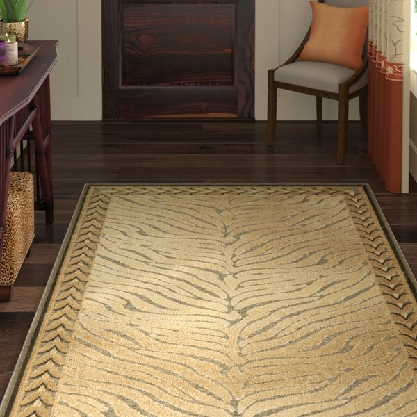 Linden Gold Rug by World Menagerie