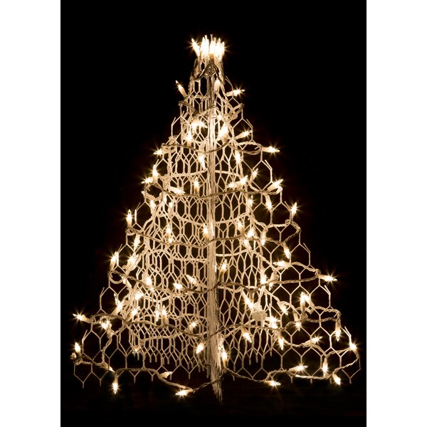 Crab Pot Christmas Tree® with 100 Incandescent Mini Lights by Crab Pot Christmas Trees