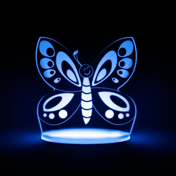 Butterfly LED Night Light by Total Dreamz