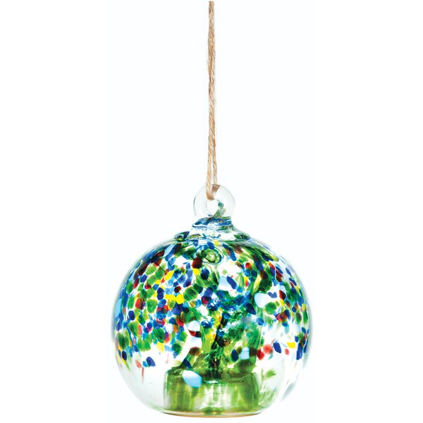 Mathis Solar Drop Outdoor Hanging Lantern by World Menagerie