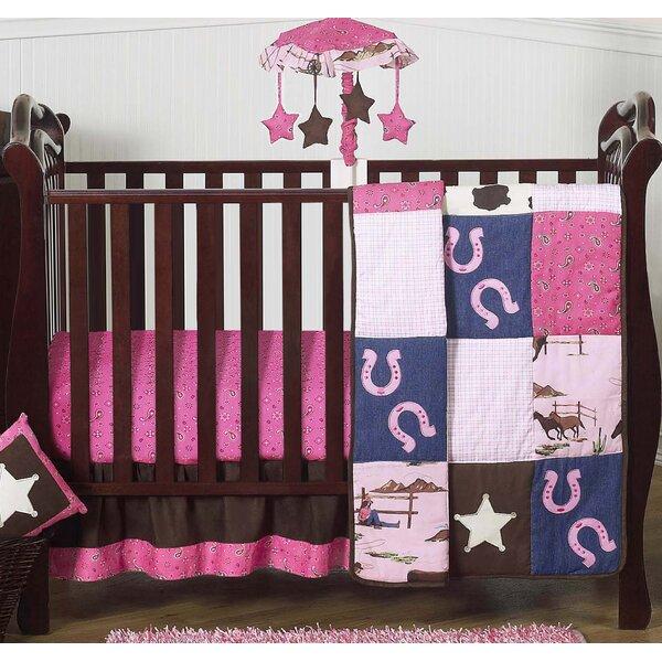 Cowgirl 4 Piece Crib Bedding Set by Sweet Jojo Designs