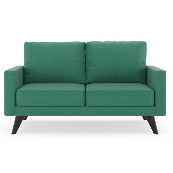 Price Sale Cowell Oxford Weave Loveseat