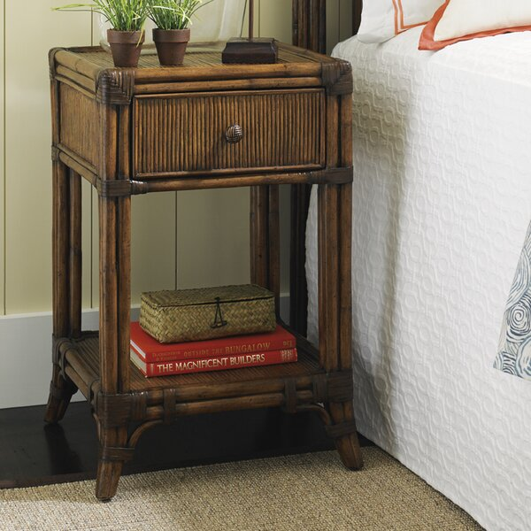Bali Hai 1 Drawer Nightstand By Tommy Bahama Home by Tommy Bahama Home Read Reviews