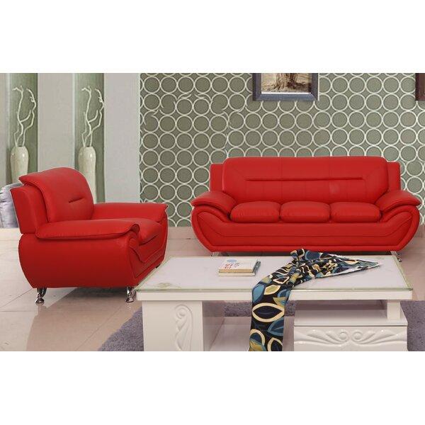 Nataly 2 Piece Living Room Set (Set of 2) by Orren Ellis