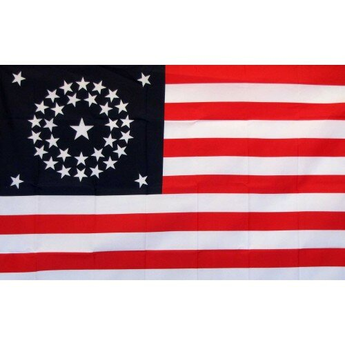 US 34 Star Historical Traditional Flag by NeoPlex
