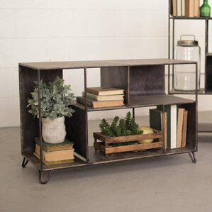 Hopkins Metal Console Table by Gracie Oaks