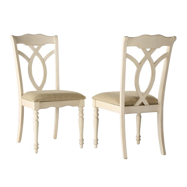 Modern Grandin Solid Wood Dining Chair (Set Of 2) By Ophelia & Co. Sale