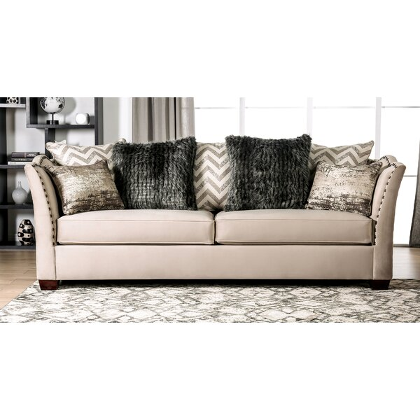 Driscoll Flared Arms Sofa by Rosdorf Park