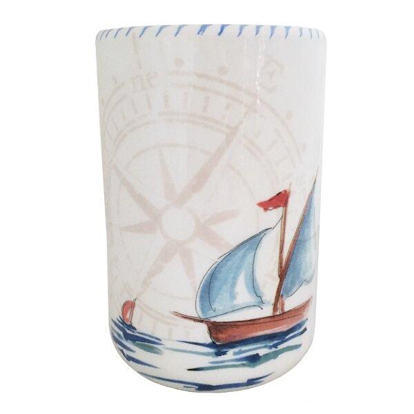 Sailboat Utensil Crocks by Abbiamo Tutto