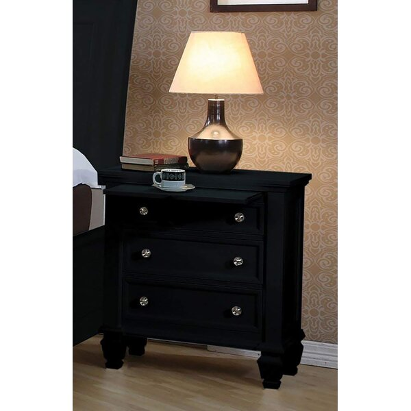 Kempst 3 Drawer Nightstand by Darby Home Co