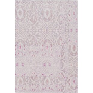 Bargain Knowland Hand-Tufted Wool Blush/Mauve Area Rug By Bungalow Rose