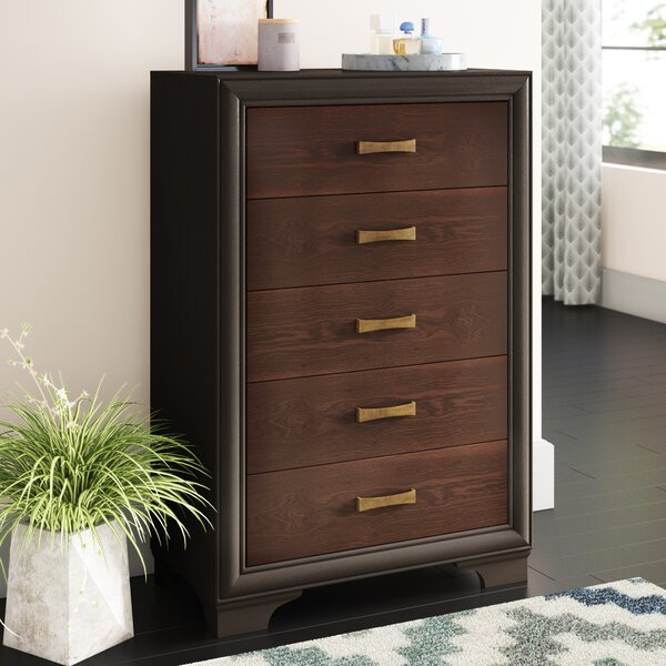 Gast 5 Drawer Chest by Latitude Run