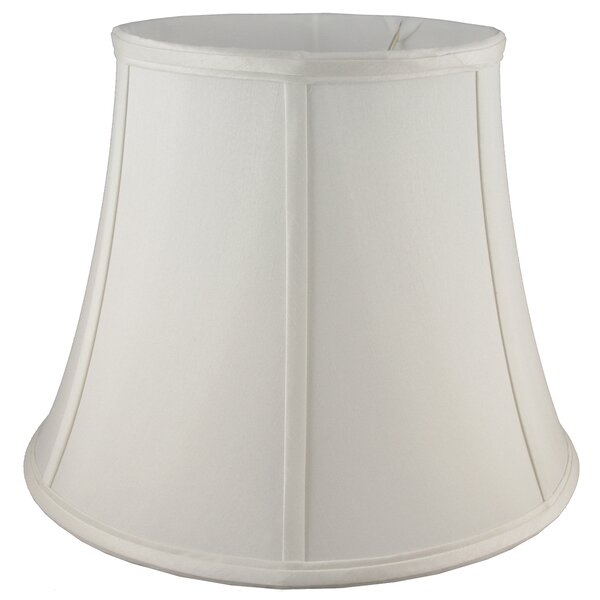 12 Faux Silk Bell Lamp Shade by American Heritage Lampshades
