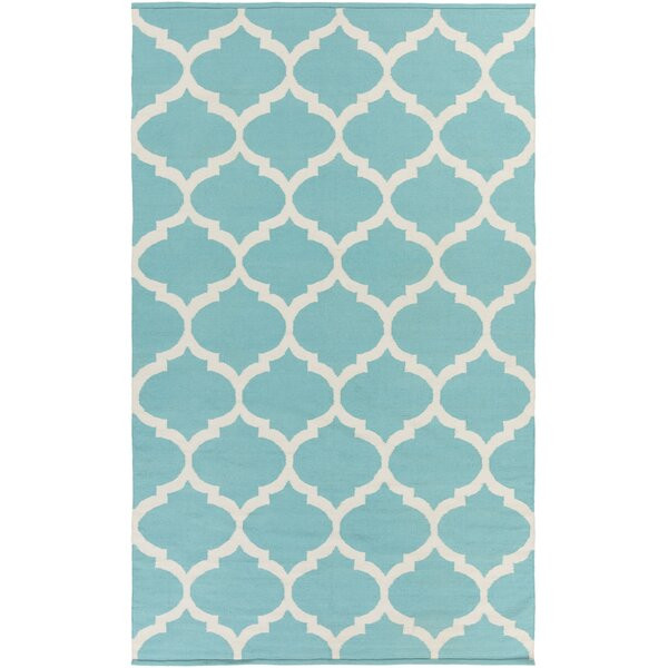 Bohannon Geometric Blue Area Rug by Andover Mills