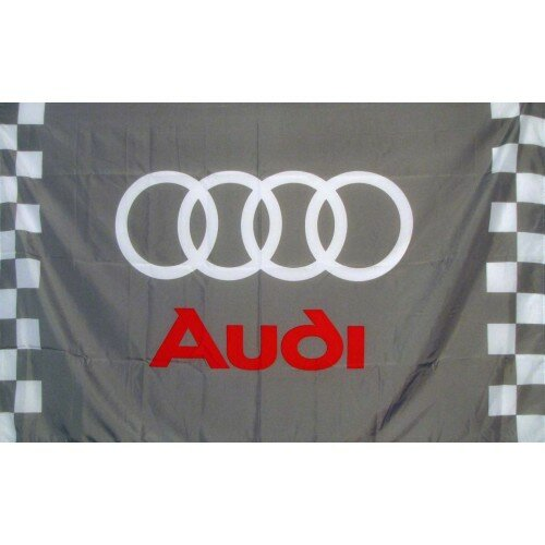 Audi Checkered Polyester 3 x 5 ft. Flag by NeoPlex