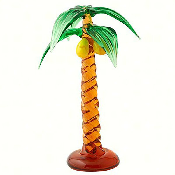 Woolery Art Animal Palm Tree Figurine by Bay Isle Home