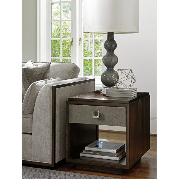 MacArthur Park Chenault End Table with Storage by Lexington Lexington