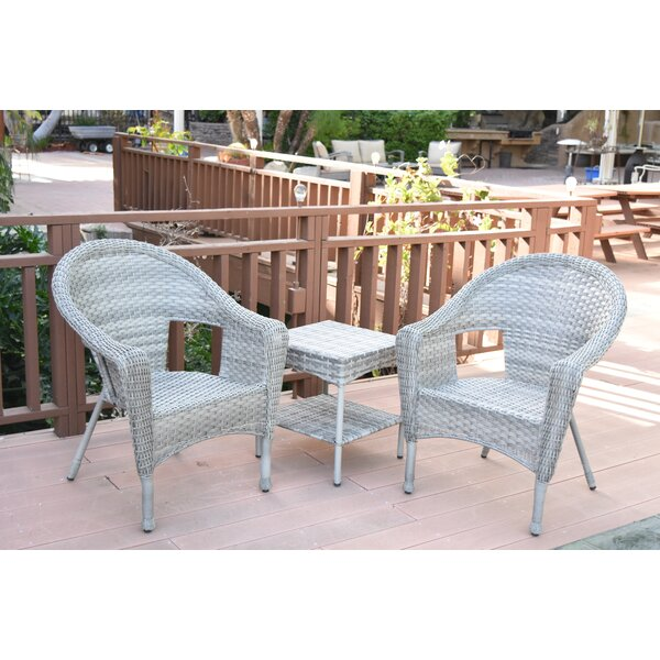 Roundtree 3 Piece Seating Group by August Grove
