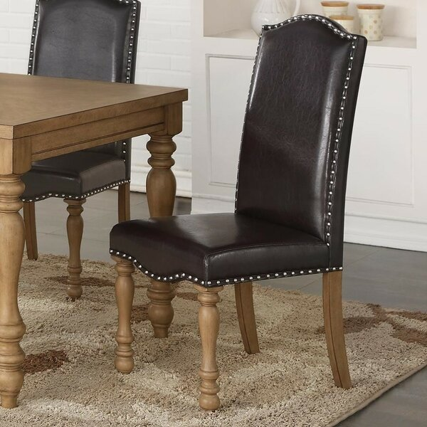 Balsam Upholstered Dining Chair (Set of 2) by Canora Grey