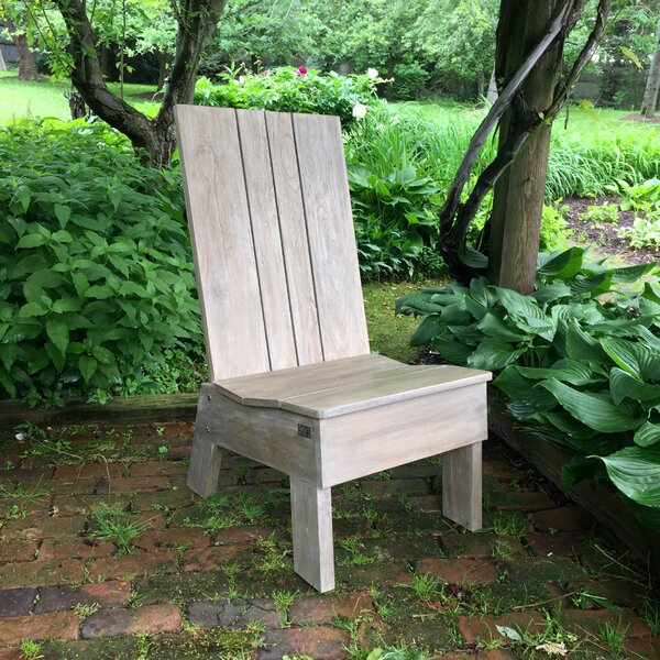Evets Teak Adirondack Chair by CO9 Design