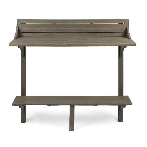 Bushnell Solid Wood Balcony Table by Bay Isle Home