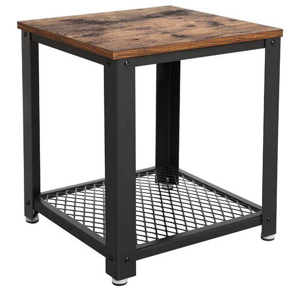 Nostrand Metal Frame End Table by Williston Forge
