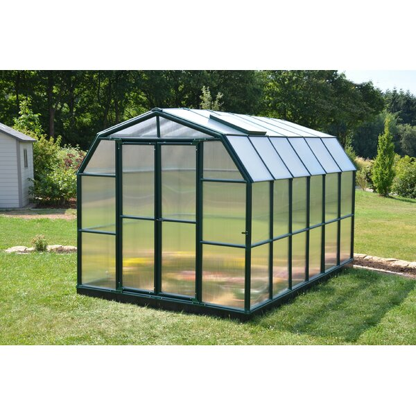 Grand Gardener 2 Twin Wall 8 Ft. W x 12 Ft. D Greenhouse by Rion Greenhouses