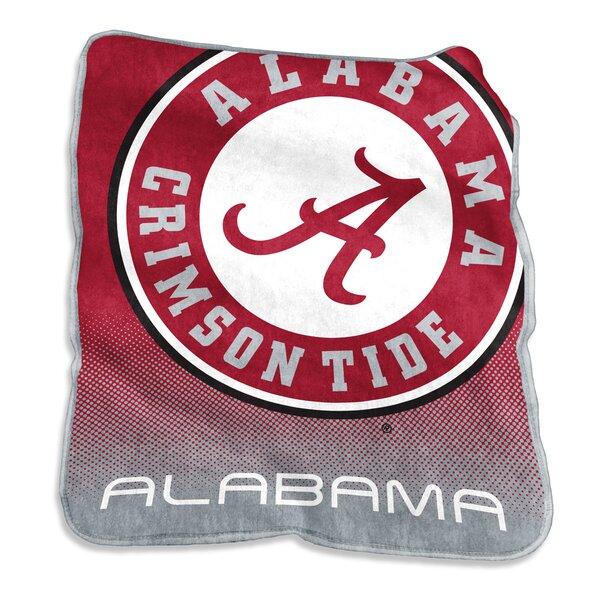 NCAA Raschel Throw by Logo Brands