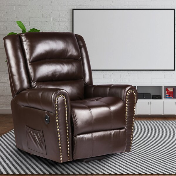 Vevay Faux Leather Power Lift Assist Recliner W003309516