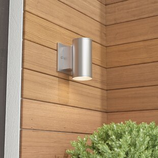 Read Reviews Cayuta 1-Light Outdoor Sconce By Latitude Run