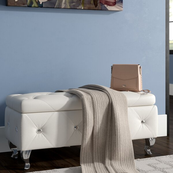 Cedric Upholstered Storage Bench by Willa Arlo Interiors