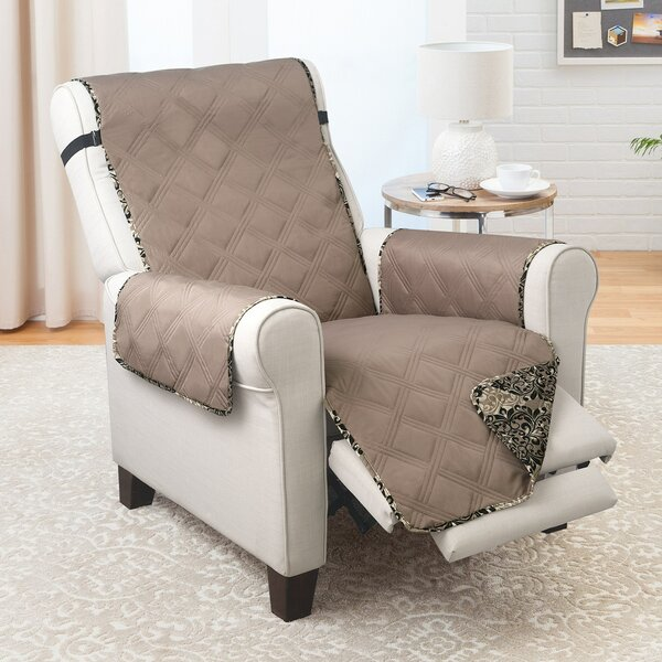 T-Cushion Recliner Chair Slipcover By Winston Porter