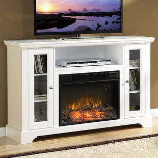 Enoch TV Stand Media 50 TV Stand with Fireplace