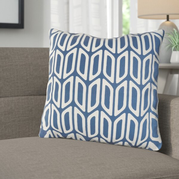 Arsdale Contemporary Cotton Throw Pillow by Langley Street