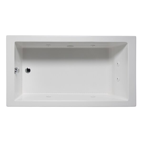 Wright 60 x 32 Drop in Whirlpool Bathtub by Americh