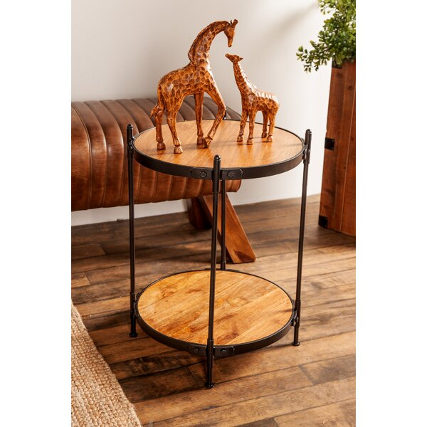 Lach End Table by Williston Forge