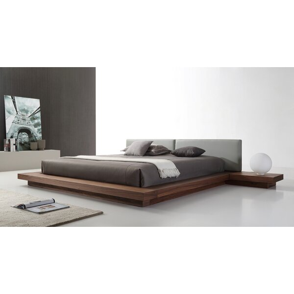 Carter Upholstered Platform Bed by Wade Logan