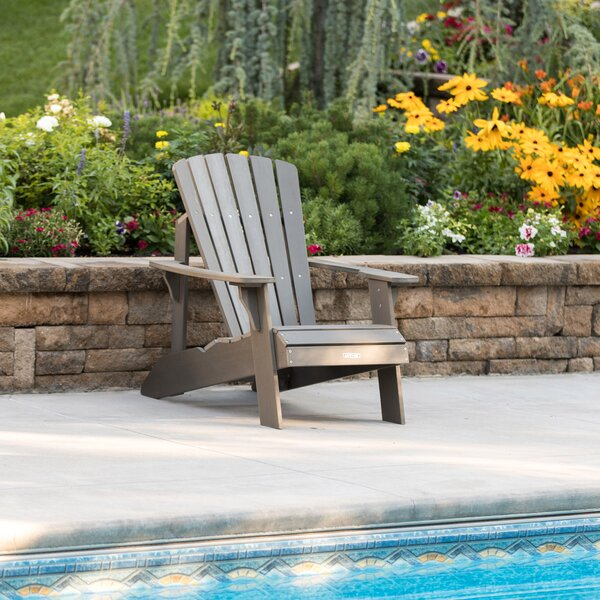 Plastic/Resin Adirondack Chair By Lifetime