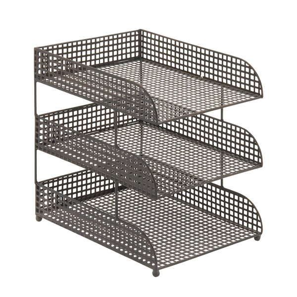 Metal 3 Tier File Folder Sorter by Cole & Grey