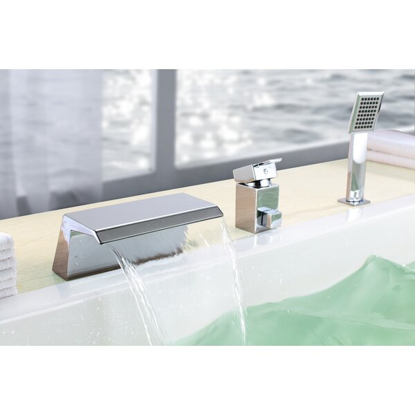 Single Handle Deck Mount Bath Tub Faucet by Sumerain International Group