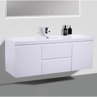 Compare & Buy Lina 59 Single Bathroom Vanity Set By Orren Ellis