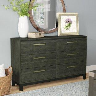 Affordable Adam 6 Drawer Double Dresser ByLaurel Foundry Modern Farmhouse