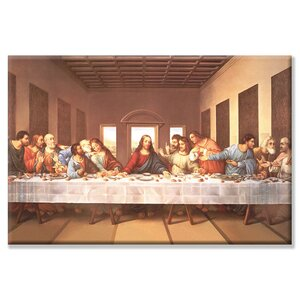 'The Last Supper' by Michelangelo Painting Print on Wrapped Canvas by Fleur De Lis Living