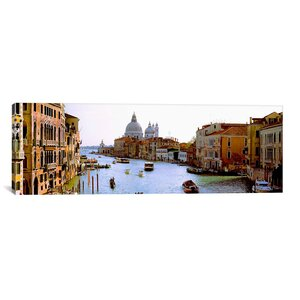 'Grand Canal and Santa Maria Della Salute, Venice, Italy' Photographic Print on Canvas by East Urban Home