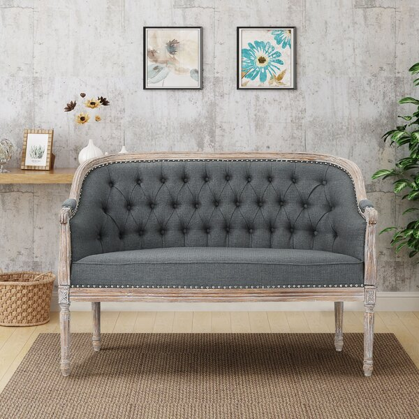 Great Sale Fincham Loveseat by Ophelia & Co. by Ophelia & Co.