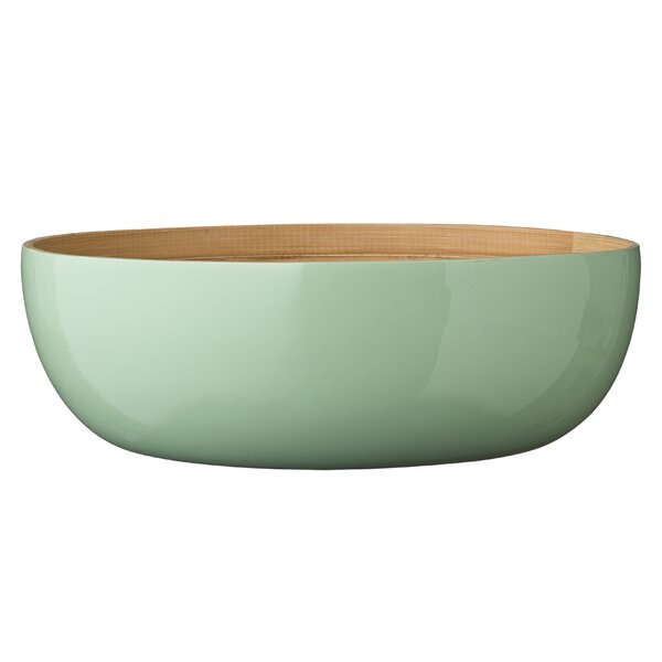 Thyme Bamboo Salad Bowl by Mint Pantry