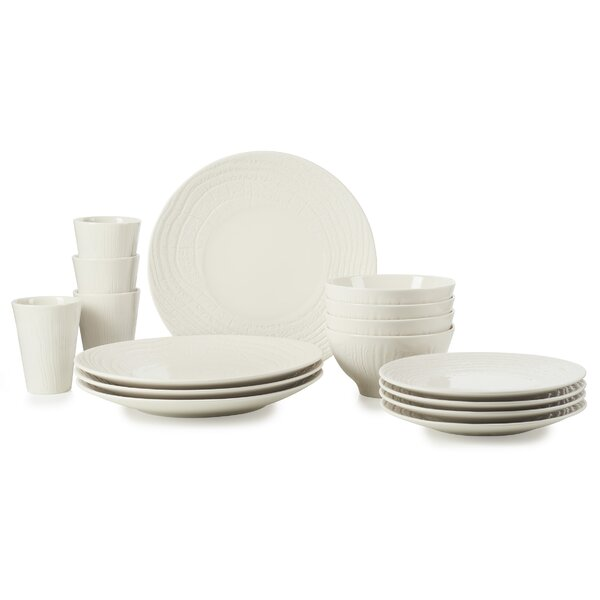 Arborescence 16 Piece Dinnerware Set, Service for 4 by Revol