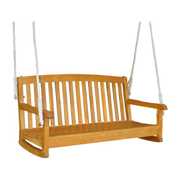 Bristol Porch Swing by Beachcrest Home