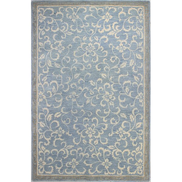 Danforth Hand-Tufted Light Blue Area Rug by Darby Home Co