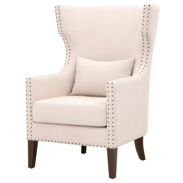 Demaris Wingback Chair by Gracie Oaks